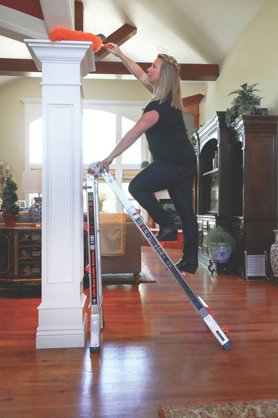 Helium Little Giant Ladder 250lb Rated 24 In 1 W