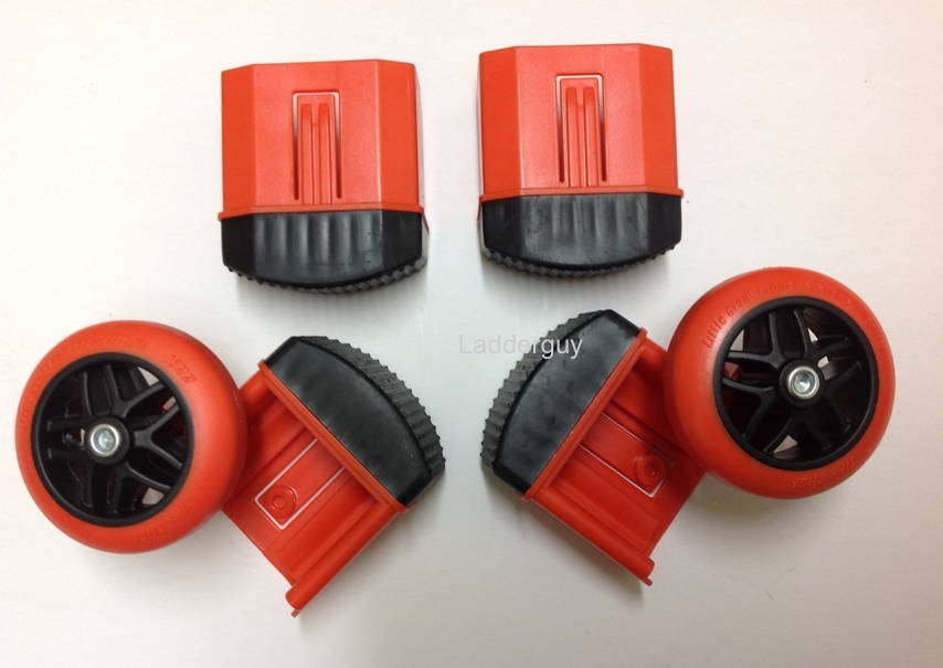 Wheel Amp Foot Kit For Classic Titanx Megamax Little Giant