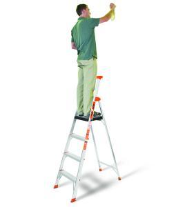 Little Giant 6 Ft Flip N Lite Platform Step Ladder 15270