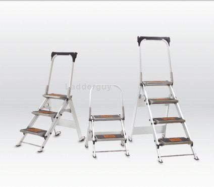Little Giant Safety Step Family  sc 1 st  eBay & 4 step Little Giant Safety Step Ladder jumbo 10410B   eBay islam-shia.org