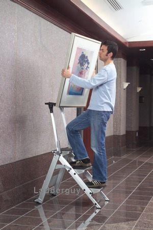 4 Step Little Giant Safety Step Ladder Jumbo 10410b Ebay