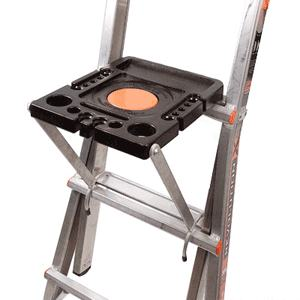 how to use little giant work platform