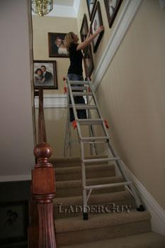 17 1a Revolution Little Giant Ladder 12017 W Wheels Ebay