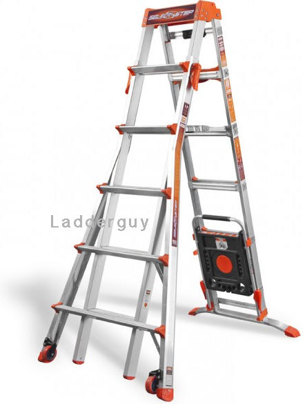 Little Giant Select Step Ladder 6 10 Airdeck 15109 001