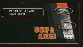 OSHA & ANSI Certified